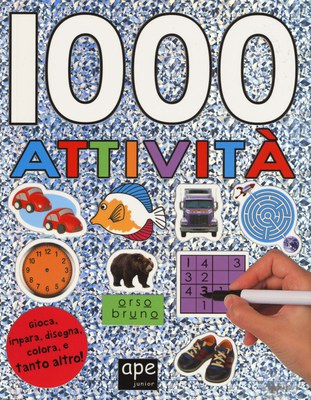 1000 attività. Con adesivi. Ediz. a colori
