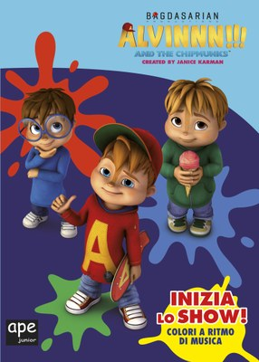 Alvin - Inizia lo show! Colori a tempo di musica