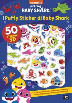 I puffy sticker di Baby Shark