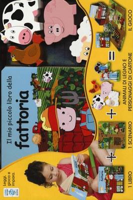 Il mio piccolo libro della fattoria. Little village. Con gadget