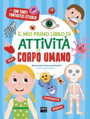 Il mio primo libro di attività sul corpo umano